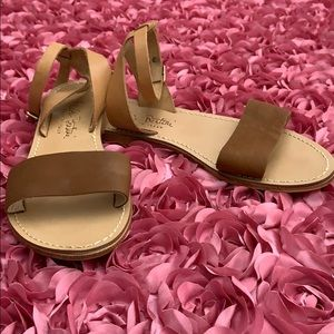 Shoes - Tan sandals from Paolo Bertini.